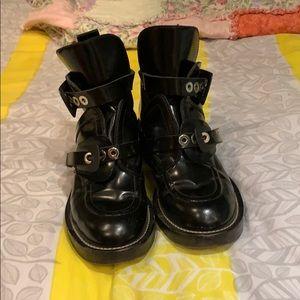 Authentic Balenciaga Buckle Boots